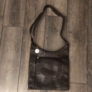 The Sak dark brown leather purse